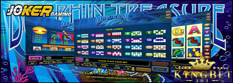 Game Slot Joker123 Banjir Hadiah Di Dolphin Treasure
