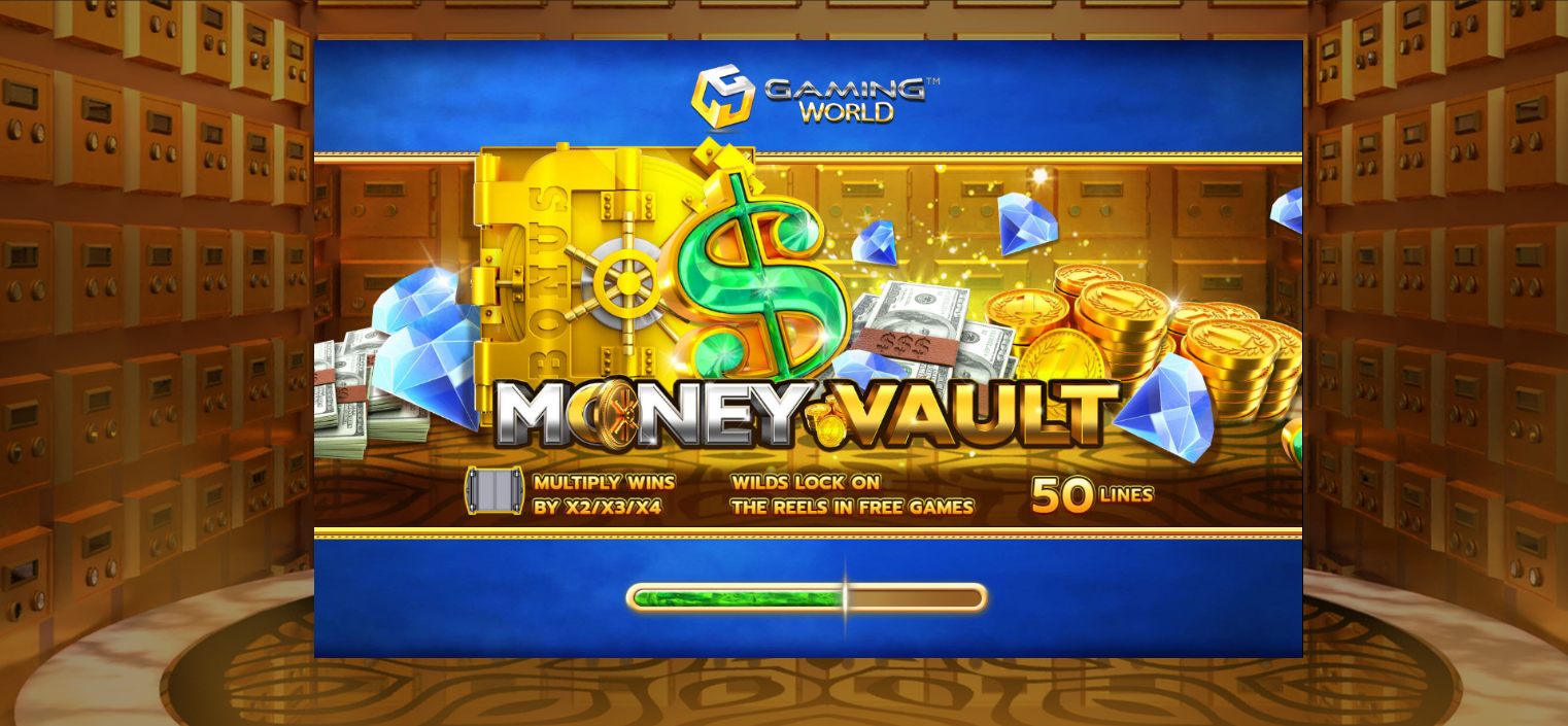 Bom Uang Cuma-Cuma Money Vault Agen Casino Vivo Slot
