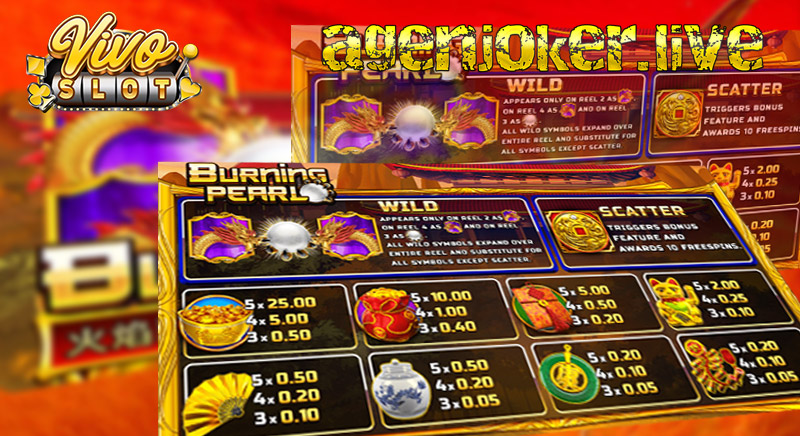 Tips & Trick Menang Game Slot Online Burning Pearl Vivo Slot
